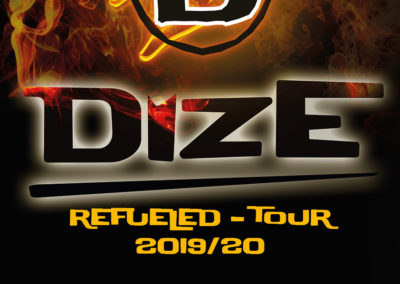 Plakat Refueled Tour Din A3